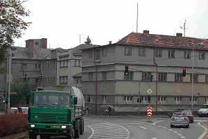 Budova bývalé domažlické nemocnice