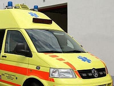 Ilustrační foto. Sanitka rychlé záchranné služby.