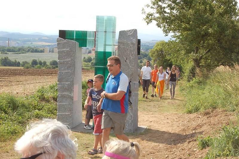 Nová vstupní brána na Baldov