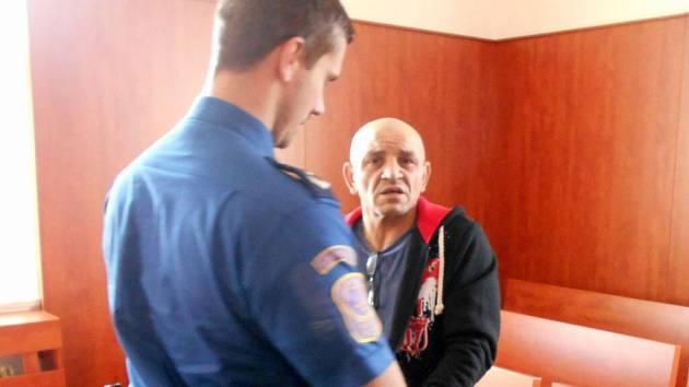 Lubomír Šarišský před soudem.