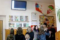 Školní informační kanál školáky zaujal.