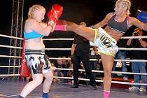 Dlouholetá opora Shaolin Tigers Alena Holá boxovala na profesionálním galavečeru v Polsku.