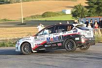 Jan Šlehofer s Tomášem SIngerem v Subaru Impreza STI na 33. Rally Příbram.