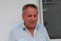 Josef Husník, velitel SDH Brnířov.