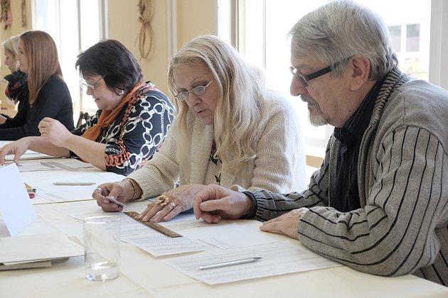 Volby v domažlickém domově pro seniory.