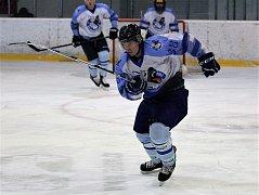 Z utkání hokejistů HC Domažlice A.