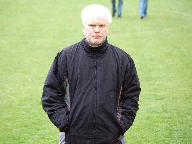 Trenér Miroslav Moravec.