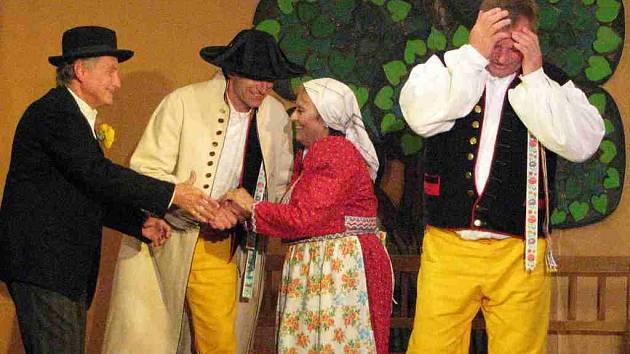 Prodaná nevěsta po Pašešnicku.