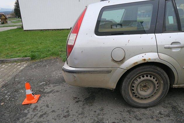 Šofér srazil chodce, ten skončil se zraněním vnemocnici.