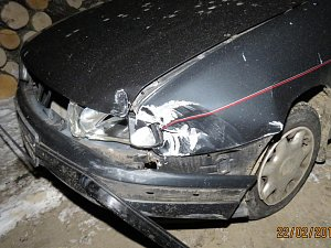 ČTVRTEČNÍ dopravní nehoda ve Všerubech byla zaviněna řidičem, který z místa nehody ujel. Zanedlouho poté ho Policie našla v obci Hájek, nadýchal téměř tři promile.