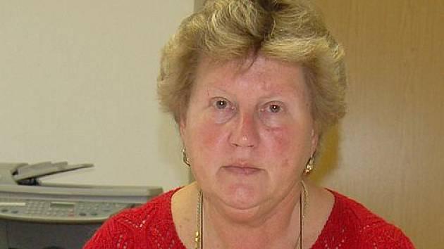 Ludmila Rousová, starosta Všerub.