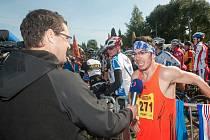Martin Frei, vítěz běžecké části Bobr Cupu 2013.