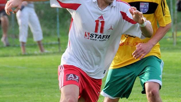 Ilustrační snímek z utkání fotbalistů holýšova s Dynamem Horšovský Týn.