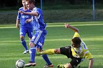 Fotbalisté Jiskry Domažlice zvítězili v Kolíně 3:1.