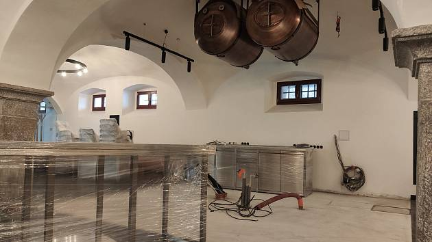 Interiéry pivovaru a pivnice. Foto: Městský pivovar Domažlice