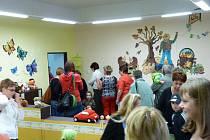 Prohlídka mateřského centra v Horšovském Týně.