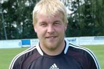 Třicetiletý útočník SV Bernried Petr Vachtl.