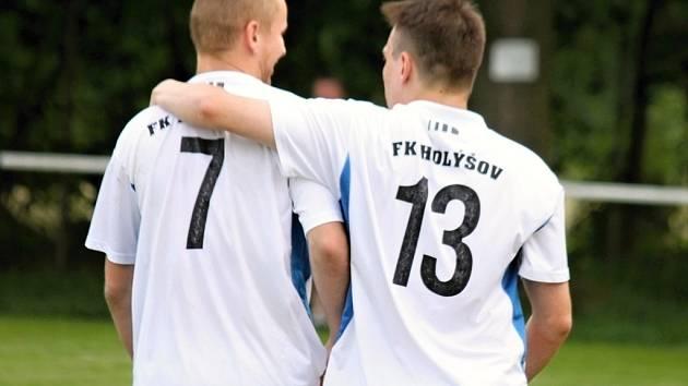 Z utkání fotbalistů FK Holýšov - ilustrační snímek.