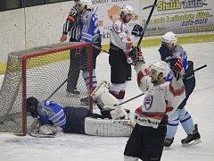 1. zápas finále KHLM Klatovy B - Domažlice 5:4