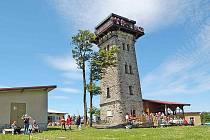 Kurzova věž na Čerchově.