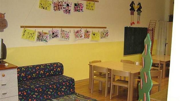 Mateřská škola v Blížejově.