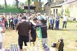 Mladí rybáři z Domažlicka na soutěži v Kynšperku nad Ohří.