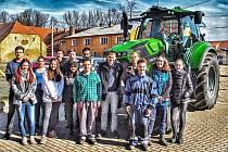 Žáci oboru Agropodnikání.