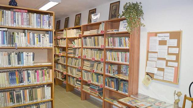 Kolovečská knihovna.