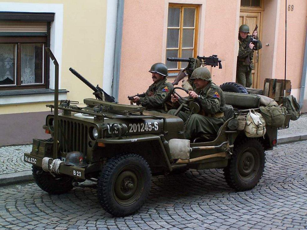 Ukázka dobových bojů v Horšovském Týně.