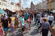 Chodské slavnosti 2016, neděle v centru Domažlic