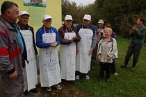Horšovskotýnští slavili před týdnem 40. výročí své moštárny.