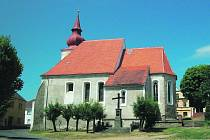 Kostel Nanebevzetí Panny Marie v Poběžovicích.