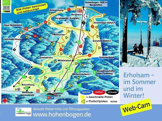 Centum zimních sportů Hohenbogen.