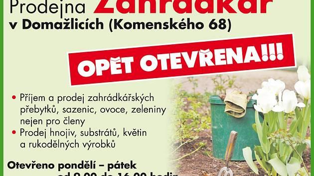Prodejna Zahradkář