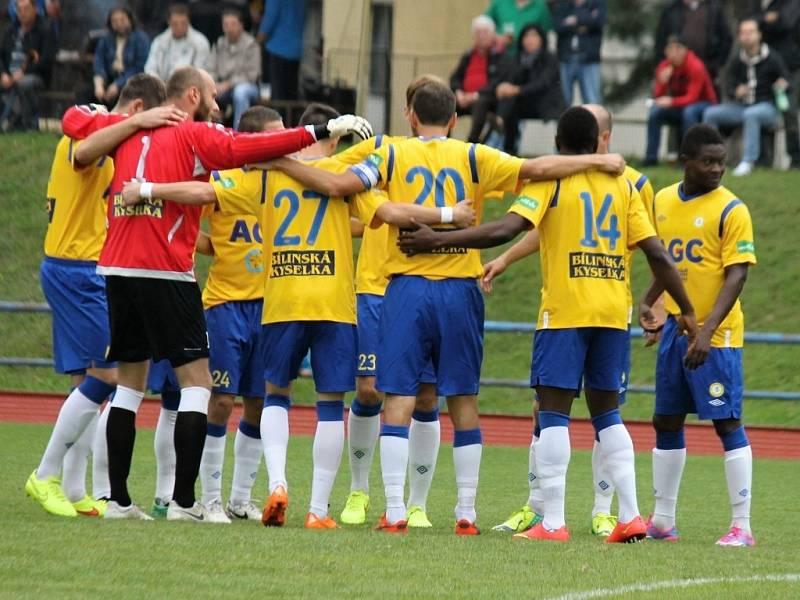První zápas osmifinále Poháru České pošty: Jiskra Domažlice - FK Teplice 0:4 (0:1).