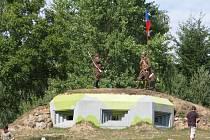 Z oslav 100. výročí založení SDH Kvíčovice