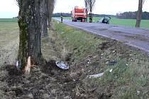 Dopravní nehoda u Velkého Malahova.