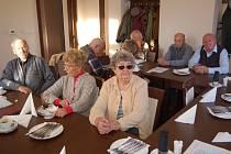 Členové domažlické organizace Svazu PTP se v pondělí sešli na každoroční  schůzi.