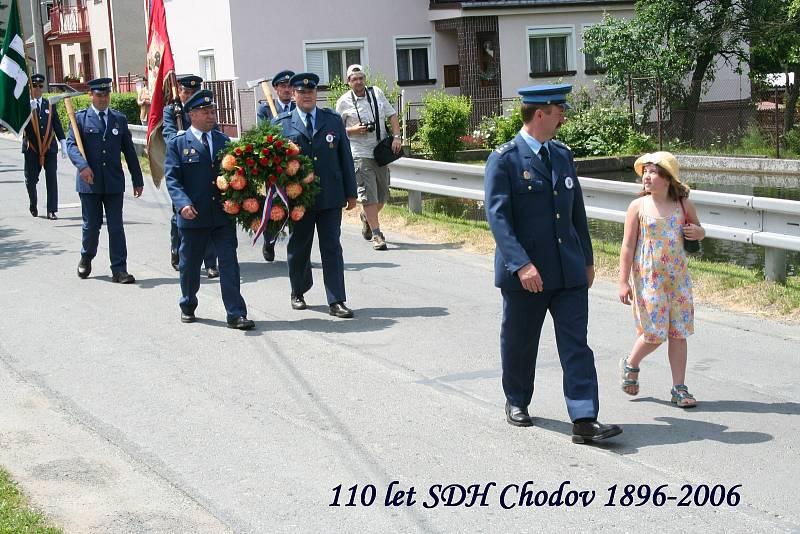 Oslavy 110 let SDH Chodov.