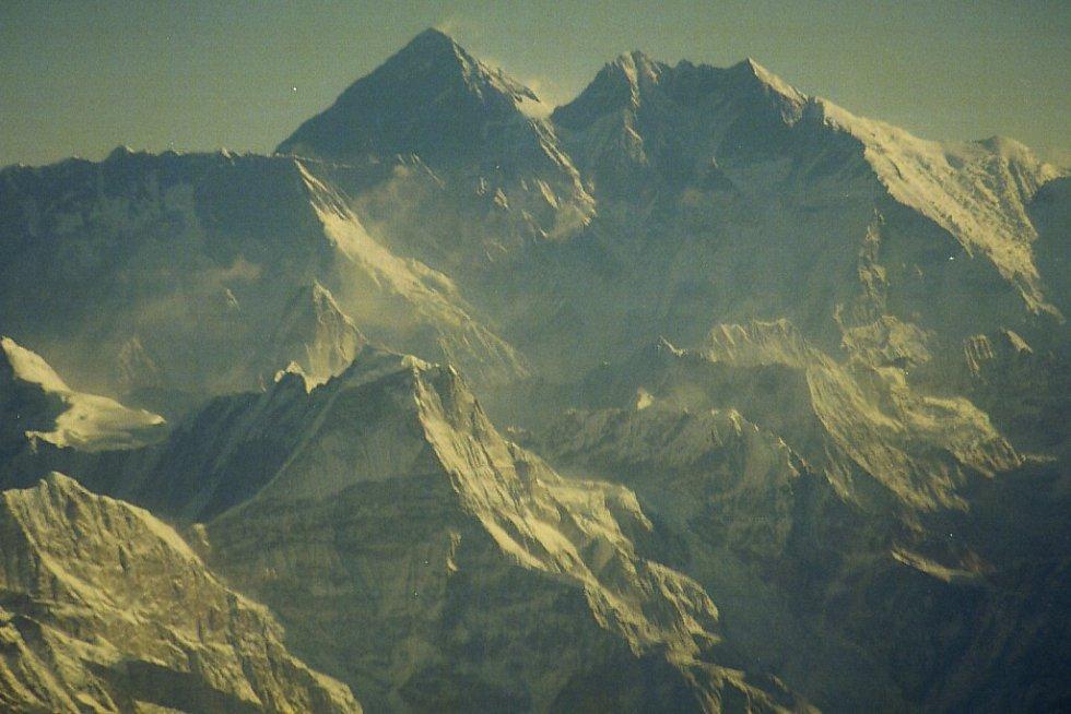 Mt.Everest z letadla