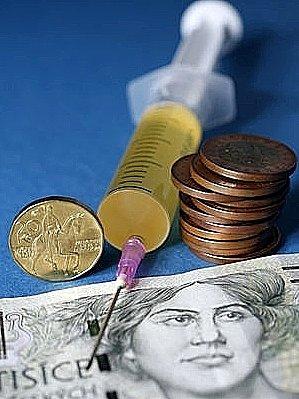 Peníze, peníze a zase peníze. Až poté je možné léčit.