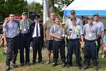Z vátězství se radoval tým mužů SDH Bělá nad Radbuzou.