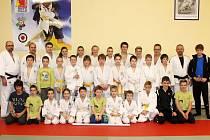 Sportovci Judo-clubu Domažlice.