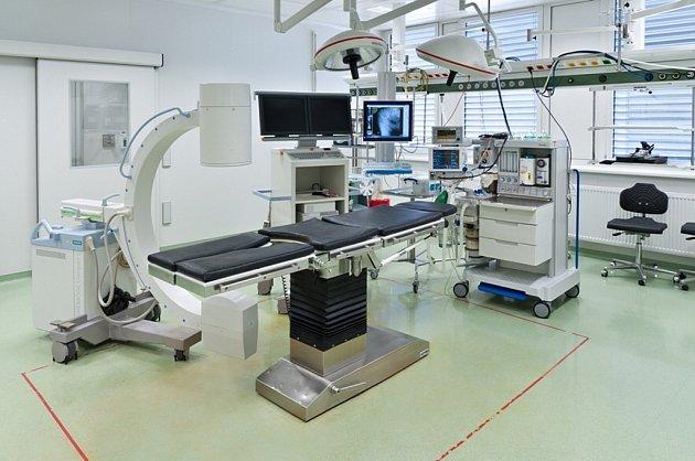 Operační sál Domažlické nemocnice
