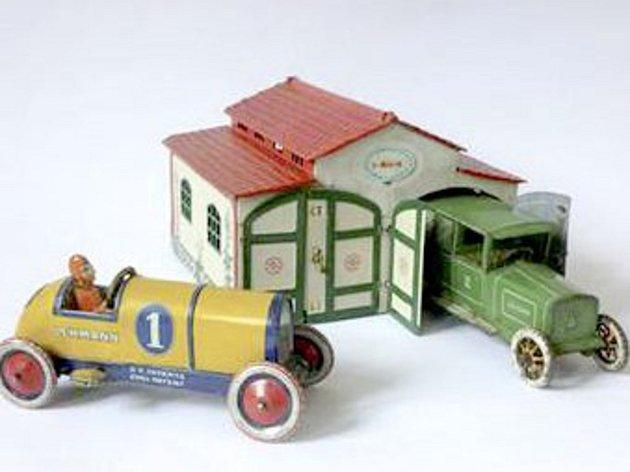 Dopravní hračky.