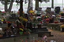 Domažlický hřbitov.
