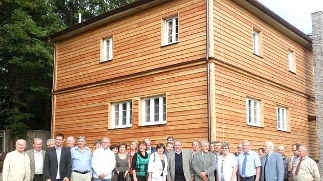 Horská chata Koráb po rekonstrukci