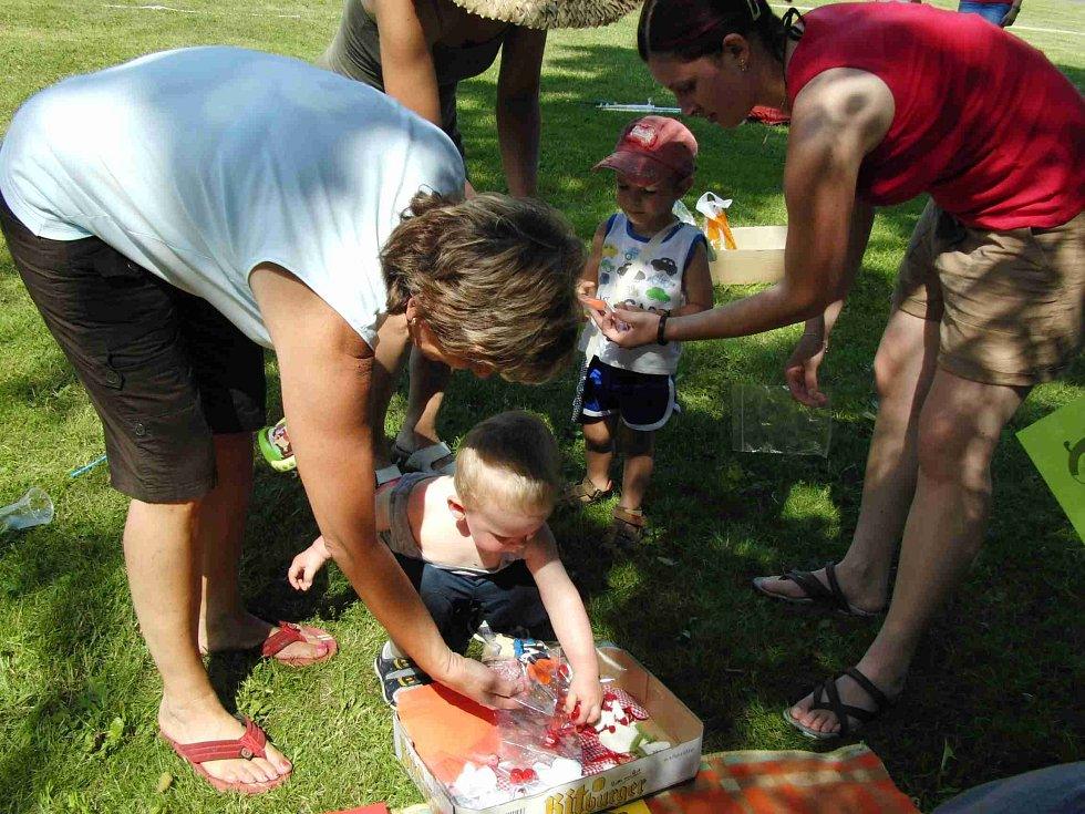 V Pasečnici se děti při Dětském dnu spojeném s vítáním prázdnin vydováděly.
