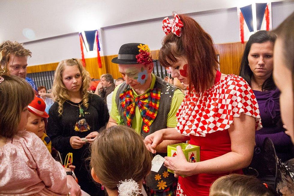 Maškarní karneval v Domažlicích.