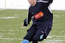 Fotbalista Jakub Šimůnek.